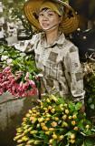 The Bat Su Street Flower Girl