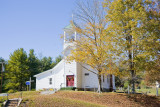 Hudson Crossroads:  Church on Crooked Run Road