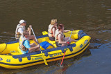 Rafting the Vltava