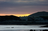 Sunset over Inishark from Inishbofin Co Galway