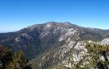 Mt. San Jacinto as seen from Tahquitz Peak