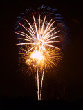 Austin Fourth of July Fireworks 2008