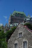 Hotel Champlain vue du Quartier Petit Champlain
