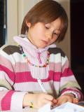 2008-11-16 Nicole writing
