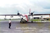 Mid 1970's - USCG Grumman HU-16E Albatross #CG-7218 parking to clear Customs