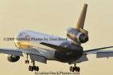 FedEx MD10-10F N393FE (ex United N1828U) landing at MIA aviation cargo airline stock photo #2139