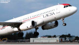 LACSA A320-233 N941LF airliner aviation stock photo #2977