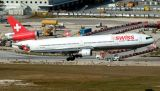 Swiss MD-11 HB-IWP airliner aviation stock photo #3077