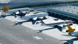 Eastern U Ramp cargo operations aviation stock photo #3094