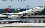 Delta Airlines B767-332 N126DL airline aviation stock photo