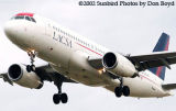 LACSA A320-232 N941LF airliner aviation stock photo