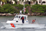 2008 - USCG 41-footer CG-41459 escorting the USCGC BERTHOLF out Government Cut stock photo #1955