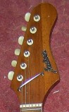Type 2 Red - headstock