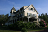 The Pemaquid Point Hotel, where I stayed.  It's kind of an old fashioned place. Kind of different!