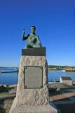 Quarryman statue