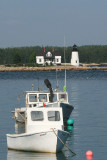 The lighthouse at Prospect Harbor.  Howard and I found it when we visited Acadia before, but I wanted to visit it again.