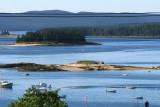 A typical scene in pretty Deer Isle.