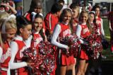 OSU Cheerleaders at Ohio State University 11-15-2009