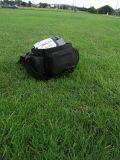 Just missing John's bag on landing