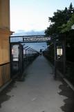 Flying footbridge of Gondolen