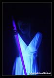 Sensual TIFFANIE, trial in black light ! /  SensuelleTIFFANIE, essais en lumière noire!