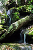 No Name Creek in Stone Mountain State Park NC.