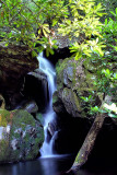 Waterfalls (NO. 6) on No Name Creek in Stone Mountain State Park NC.