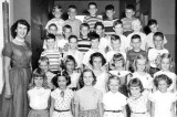 1954-1955 - Miss Wilson's 2nd grade class at Miami Springs Elementary School