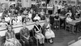 1957-1958 - Miss Ruth Ban's 5th grade class at Springview Elementary School (entire photo)