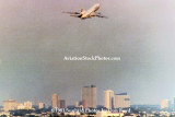 1983 - a Pan Am DC-10 climbing out over Miami after takeoff from runway 12 at MIA