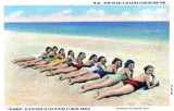1940's - bathing beauties on Miami Beach