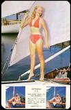 1953 - Miss Iris Maxwell, Miss Miami Beach postcard