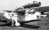 1958 - Ted Crownover with his dad's completed Stinson