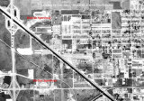 1963 - aerial view of Medley and Hialeah with both speedways visible