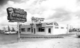 1950's - Formico's Restaurant, Tiny's Liquors and the Jet Bar