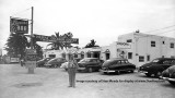 1950's - unknown gentleman in front of the Hi-Hat Cafe on Biscayne Boulevard