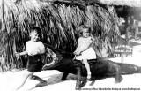 1942 - Russ Schneider and Judy Schneider Figueredo at Musa Isle