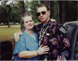 Roberta Perry Hughes and her husband Lewis in 1992