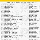 WQAM top songs for 1961