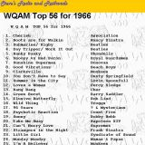 WQAM top songs for 1966