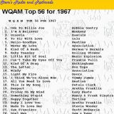 WQAM top songs for 1967