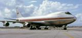 1972 - TWA B747-131 N93104 visits MIA on a charter by Fedders