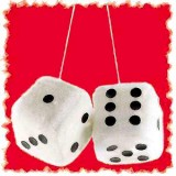 Fuzzy Dice for your car
