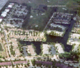 1976 - aerial view of our future neighborhood in 1980