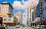1954 - Flagler Street looking west with City Drugs on the left