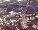 1976 - aerial view of Lake Suzie section of Miami Lakes and the Palmetto Expressway
