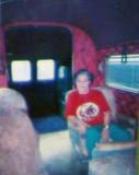 2008 - 1995 photo of Mary Ann Goodlett-Taylor in Glenn Curtiss AEROCAR