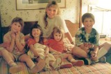 1989 - Lisa and Katie Criswell, Karen and Donna, and David Criswell