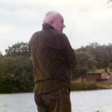 Early 70's - John M. C. Boyd fishing on Upper Rideau Lake