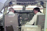 1973 - the captain and first officer (or visitor?) in the cockpit of National Airlines B747-135 N77772 Patricia at LAX